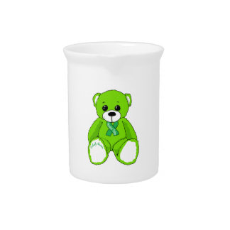 Cerebral Palsy Awareness Teddy Bear Products Beverage Pitcher
