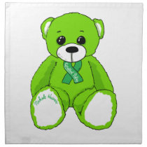 Cerebral Palsy Awareness Teddy Bear Products Cloth Napkin