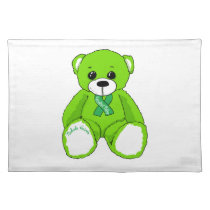 Cerebral Palsy Awareness Teddy Bear Products Cloth Placemat