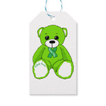 Cerebral Palsy Awareness Teddy Bear Products Gift Tags