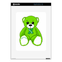 Cerebral Palsy Awareness Teddy Bear Products iPad Decal