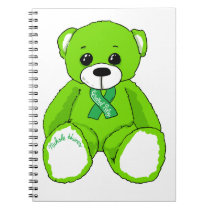 Cerebral Palsy Awareness Teddy Bear Products Notebook