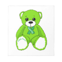 Cerebral Palsy Awareness Teddy Bear Products Notepad