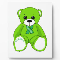 Cerebral Palsy Awareness Teddy Bear Products Plaque