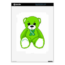 Cerebral Palsy Awareness Teddy Bear Products Skin For iPad 2