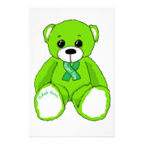Cerebral Palsy Awareness Teddy Bear Products Stationery
