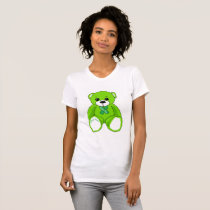 Cerebral Palsy Awareness Teddy Bear  T-shirt