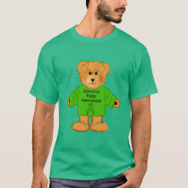 Cerebral Palsy Awareness Teddy T-Shirt