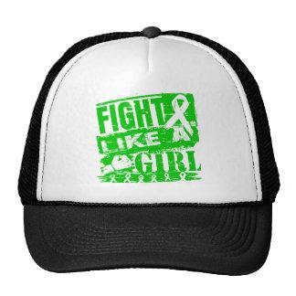 Cerebral Palsy BurnOut Fight Like a Girl Trucker Hat