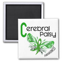 Cerebral Palsy BUTTERFLY 3 Magnet
