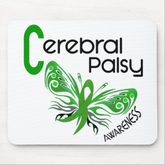 Cerebral Palsy BUTTERFLY 3 Mouse Pad