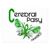 Cerebral Palsy BUTTERFLY 3 Postcard