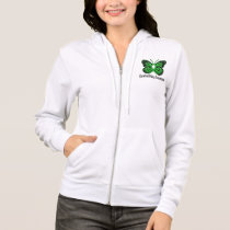 Cerebral Palsy Butterfly Awareness Ribbon Hoodie