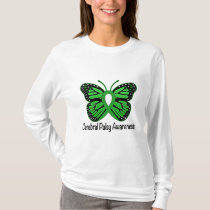 Cerebral Palsy Butterfly Awareness Ribbon T-Shirt