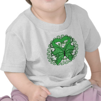 Cerebral Palsy Butterfly Circle of Ribbons T-shirt
