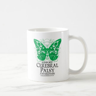 Cerebral Palsy Butterfly Classic White Coffee Mug
