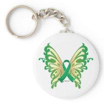 Cerebral Palsy Butterfly Keychain