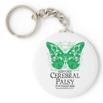 Cerebral Palsy Butterfly Keychain