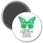 Cerebral Palsy Butterfly Magnets