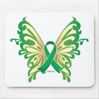 Cerebral Palsy Butterfly Mouse Pad