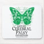 Cerebral Palsy Butterfly Mousepads