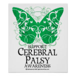 Cerebral Palsy Butterfly Poster