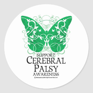 Cerebral Palsy Butterfly Stickers
