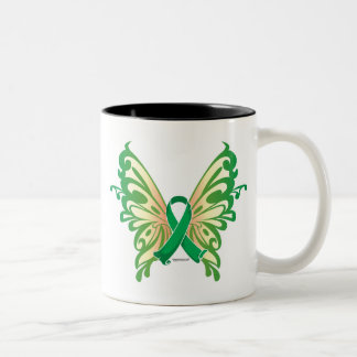 Cerebral Palsy Butterfly Two-Tone Coffee Mug