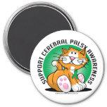 Cerebral Palsy Cat Magnets