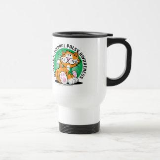 Cerebral Palsy Cat Travel Mug