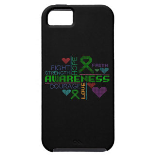 Cerebral Palsy Colorful Slogans iPhone 5 Cases