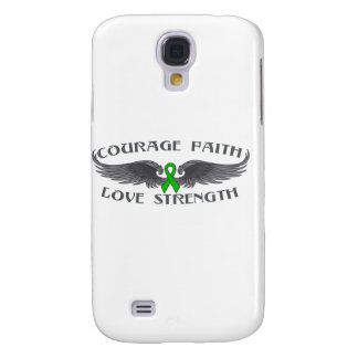 Cerebral Palsy Courage Faith Wings Samsung Galaxy S4 Case