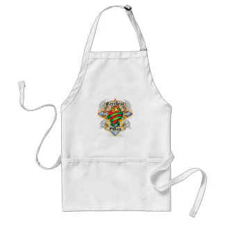 Cerebral Palsy Cross & Heart Adult Apron