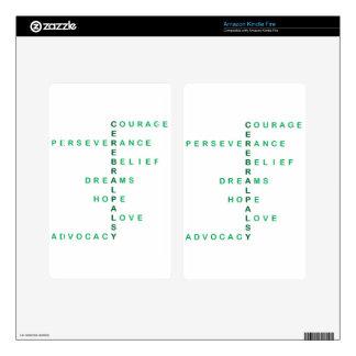 Cerebral Palsy crossword Skins For Kindle Fire