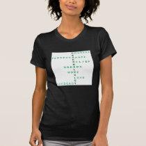 Cerebral Palsy crossword T-Shirt