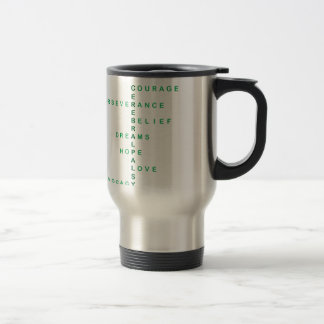 Cerebral Palsy crossword Travel Mug