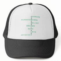 Cerebral Palsy crossword Trucker Hat