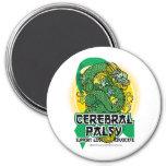 Cerebral Palsy Dragon Refrigerator Magnets