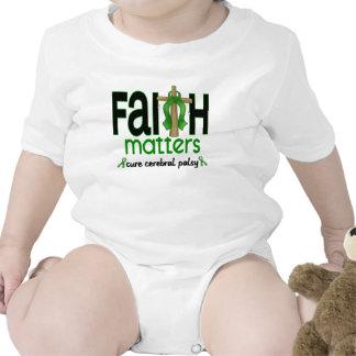 Cerebral Palsy Faith Matters Cross 1 Tees