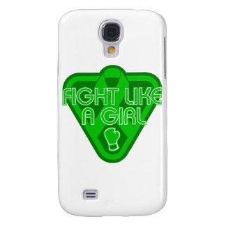 Cerebral Palsy Fight Like A Girl Glove Samsung Galaxy S4 Case