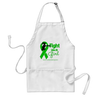 Cerebral Palsy Fight Like A Girl Knock Out Apron