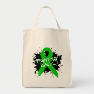 Cerebral Palsy - Fighting Back Grocery Tote Bag