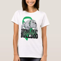 Cerebral Palsy Fighting Bulldog T-Shirt