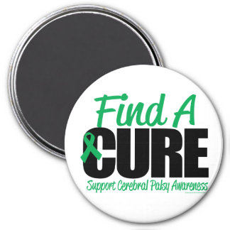 Cerebral Palsy Find A Cure 3 Inch Round Magnet