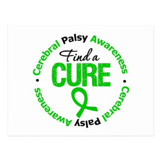 Cerebral Palsy Find a Cure Postcard