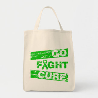 Cerebral Palsy Go Fight Cure Grocery Tote Bag