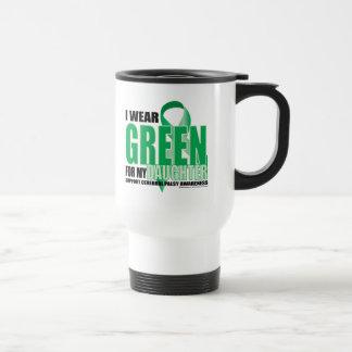 Cerebral Palsy Green for Daughter Travel Mug