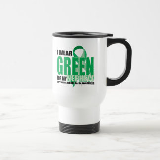 Cerebral Palsy Green for Nephew Travel Mug