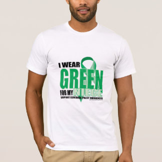 Cerebral Palsy Green for Niece T-Shirt