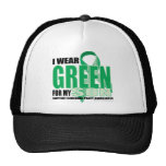 Cerebral Palsy Green for Son Hat